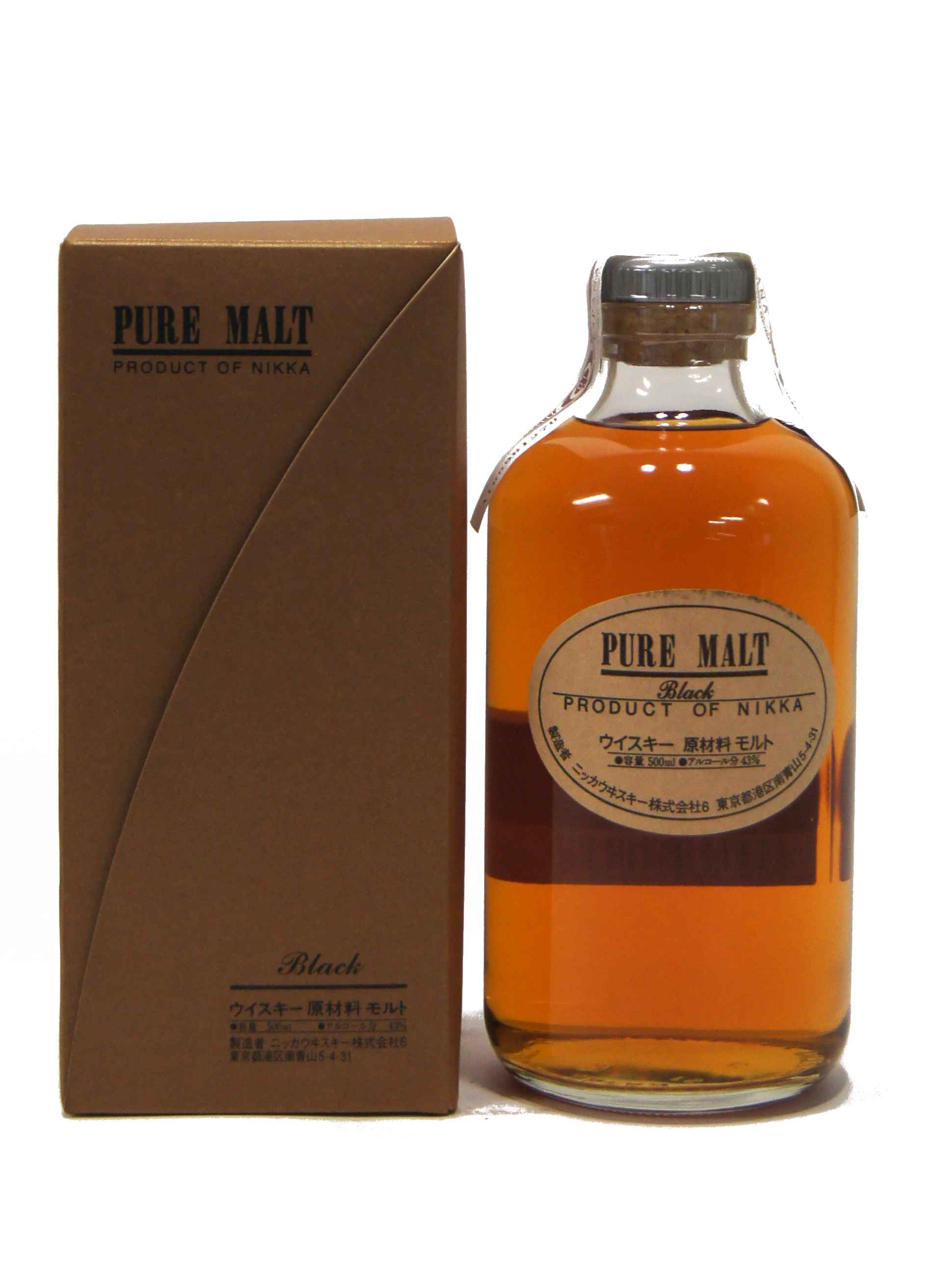 Nikka Pure Malt Black 50 cl.