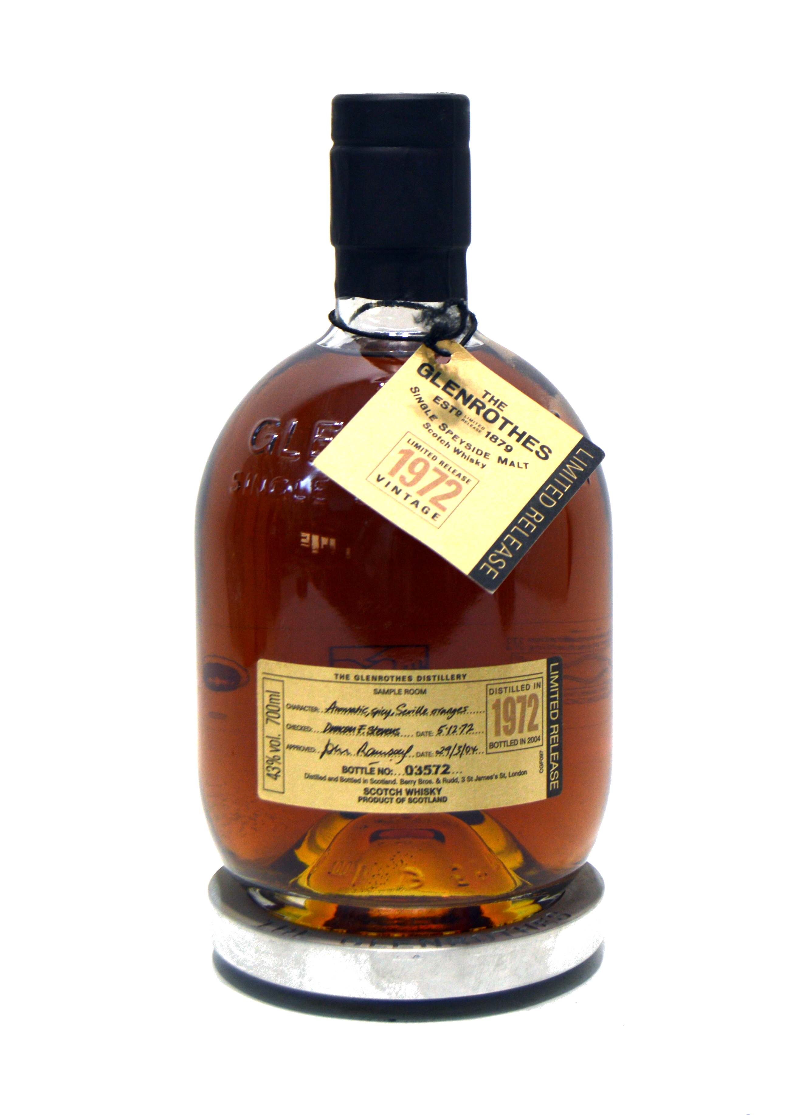 The Glenrothes Vintage 1972