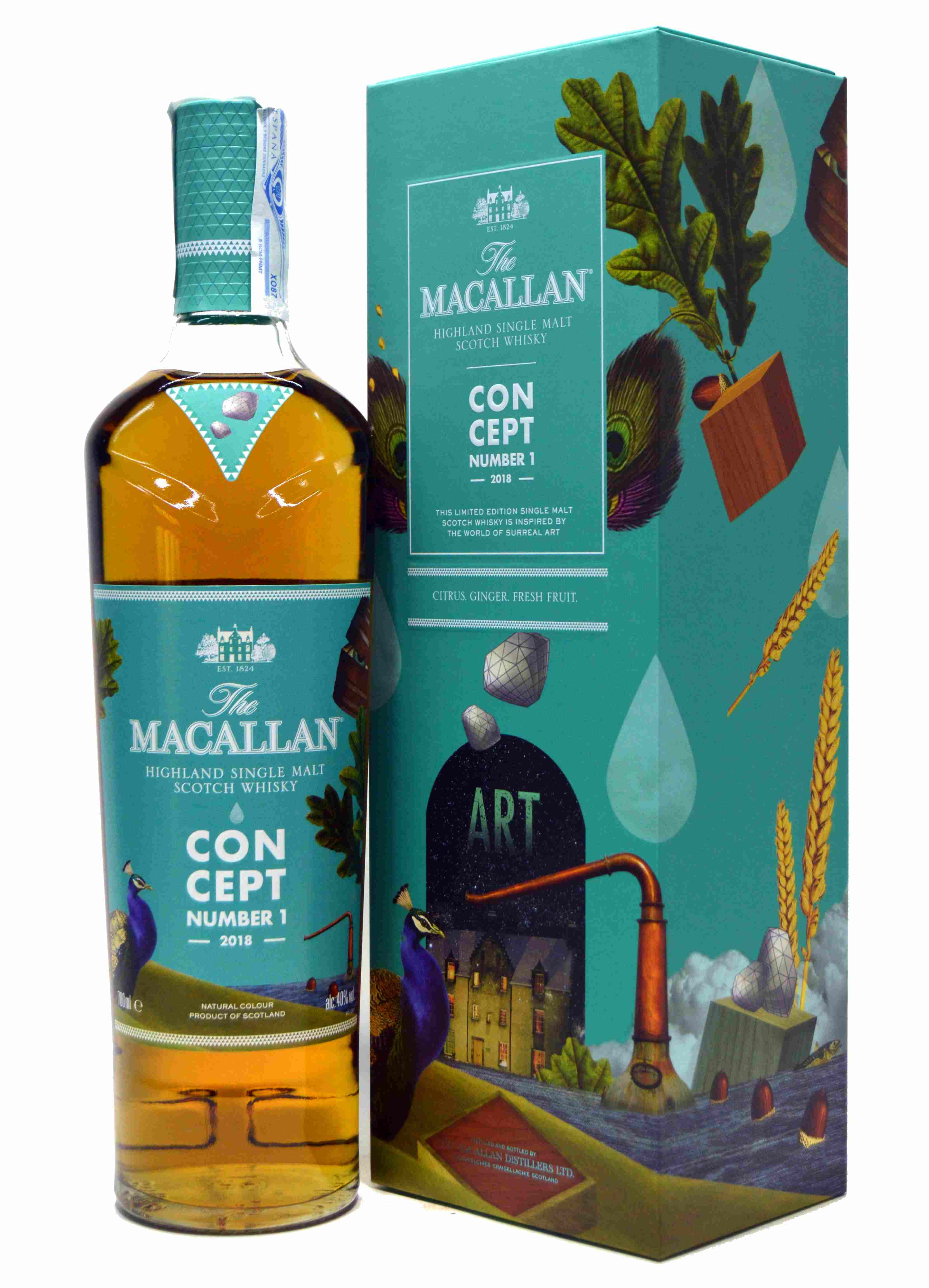 The Macallan Concept Number 1 - 2018