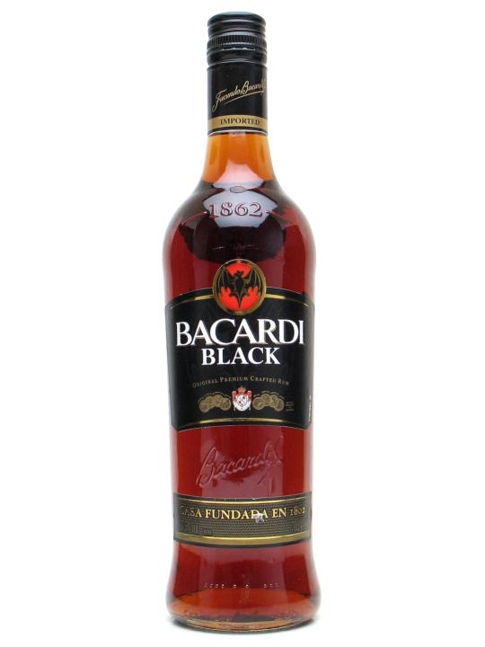Ron Bacardi Black 1.L.